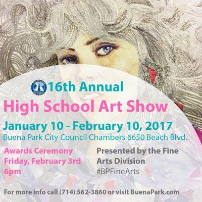 City of Buena Park High School Art Show
