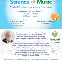 Discovery Cube's Innovators Presents - Science of Music
