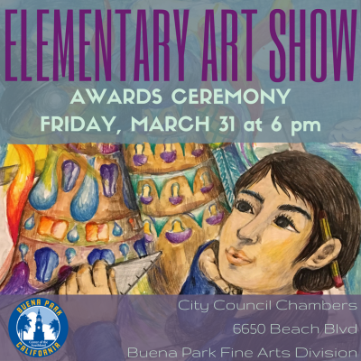 41st Annual Elementary Art Show Awards Ceremony