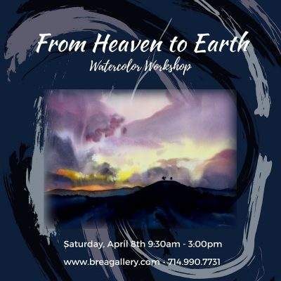 From Heaven to Earth: Watercolor
