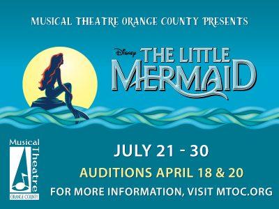 MTOC Disney Little Mermaid Auditions!