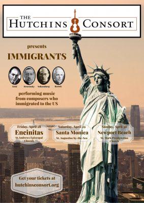 The Hutchins Consort presents: Immigrants