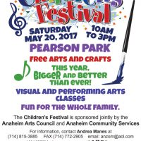 Anaheim Children's Art Festival
