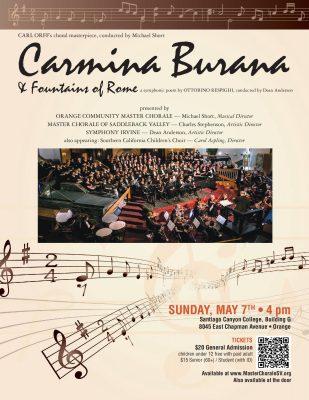 Carmina Burana and Fountains of Rome