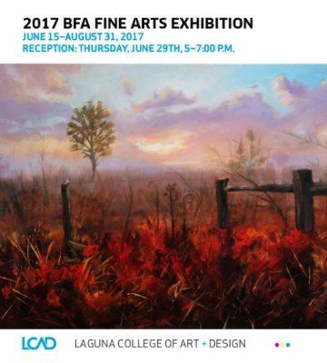 2017 LCAD BFA Fine Arts Exhibition