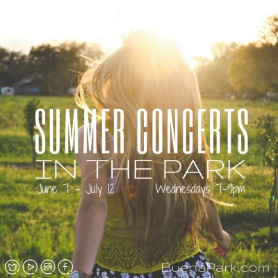FREE Summer Concerts in the Park