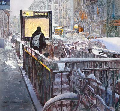 Urban Realism in Watercolor with John Salminen