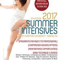Backhausdance 13th Annual Summer Intensives