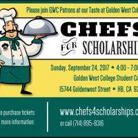 Chefs for Scholarships