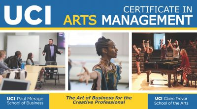 UC Irvine's Certificate in Arts Management