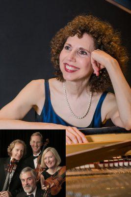 Nina Scolnik with the American String Quartet