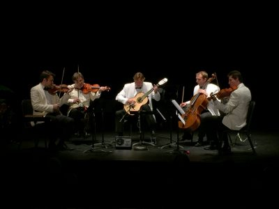 Escher String Quartet with Guitarist Jason Vieaux