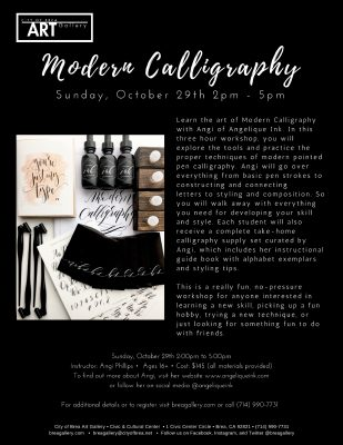 Intro into Modern Calligraphy