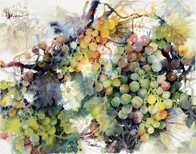 Lian Quan Zhen Watercolor Demonstration