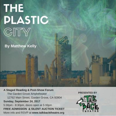 The Plastic City by Matthew Kelly - Staged Reading...