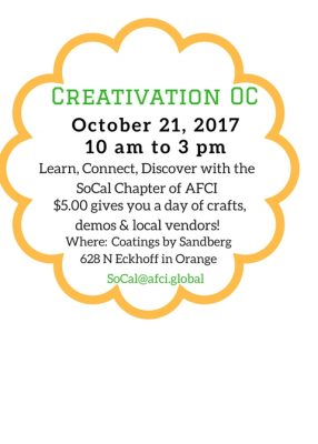 Arts & Crafts Show, Orange County, October 21
