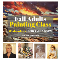 Adult Painting Class with Nino Narimanidze