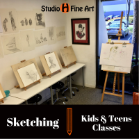 Sketch Class for Kids & Teens