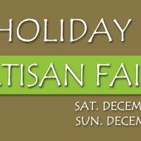 4th Annual Holiday Artisan Faire