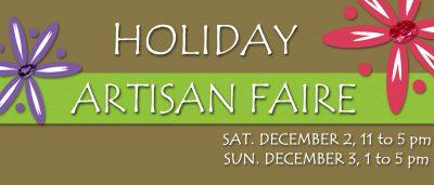 4th Annual Holiday Artisan Faire