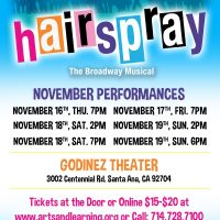 "Arts & Learning Conservatory presents ""Hairspr..."