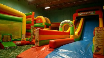 SPOOKTACULAR Bounce Party!