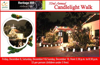 32nd Annual Candlelight Walk