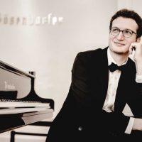 Colburn @Soka with Pianist Rodolfo Leone