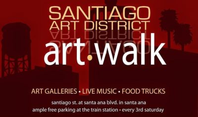 Santiago Art Walk and Small Business Open House
