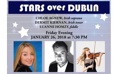 Stars over Dublin