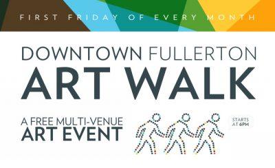 Downtown Fullerton Art Walk