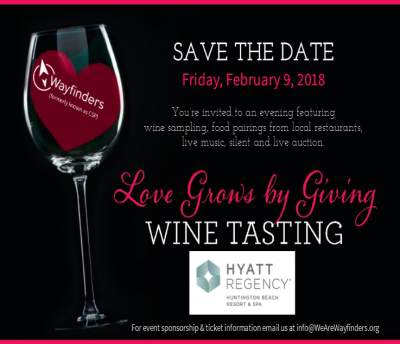 Love Grows by Giving Wine Tasting