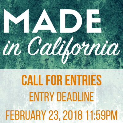 Call for Artists: Made in California Juried Exhibition