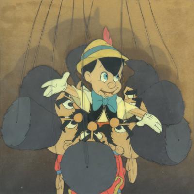 The Magic of Disney Art, Featuring Pinocchio