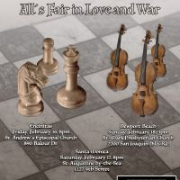 Hutchins Consort presents: All´s Fair in Love and War