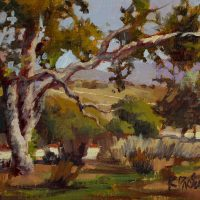 Art in the Morning: Trees & Skies