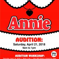 Annie Open Audition