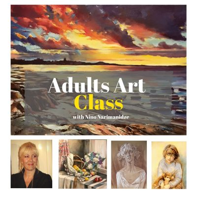 Adults All Media Art Class