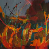 Dynamic Abstracts in Watercolor Workshop