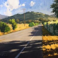 """Studio Landscape Painting"" - Artist Workshop with Greg LaRock"