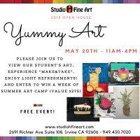 Studio H Fine Art Open House - Yummy Art