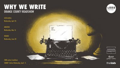 Why We Write: Roadshow - Orange