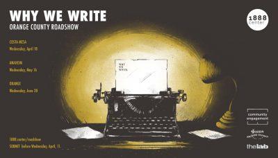 Why We Write: Roadshow - Orange
