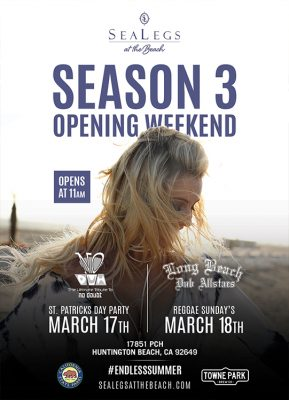 SeaLegs at the Beach reopens for Season 3