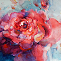Watercolor Workshop: How to Change Your Mind in Watercolor with Elaine Harvey