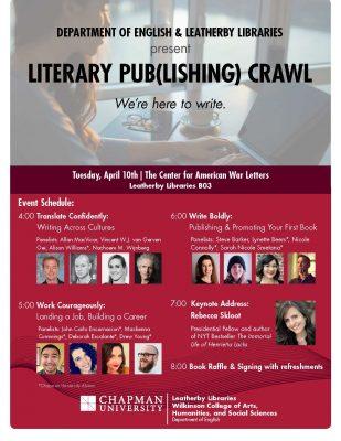 Literary PUB(lishing) CRAWL