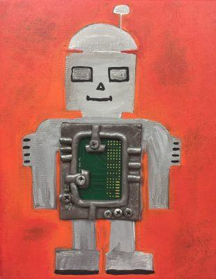 Kids & Tweens Art Night - Robots