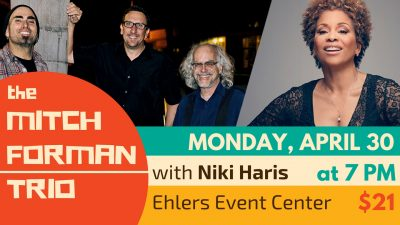 Jazz Under the Stars featuring the Mitch Forman Trio and Niki Haris!