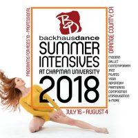 2018 Summer Intensives at Chapman University