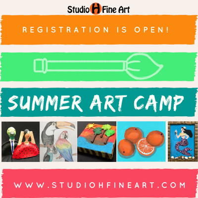 Summer Art Camp (Week 1)